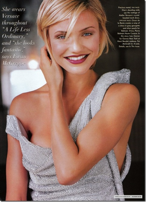 Cameron Diaz in revista Vogue iunie'09
