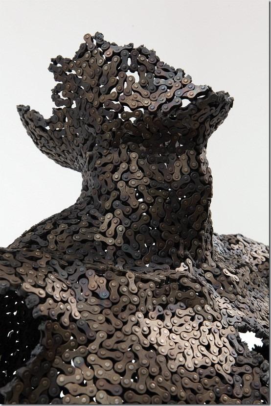 Sculpturi din lanturi de la Yeong-Deok Seo