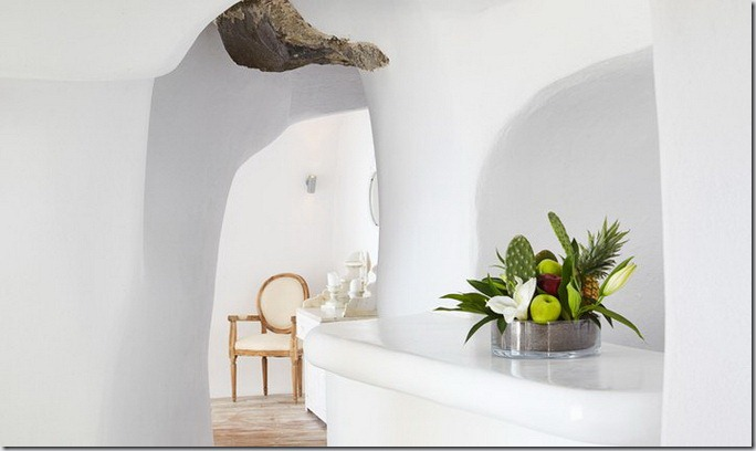 Hotel-boutique Katikies in Santorini