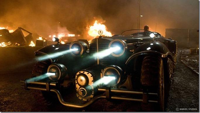 """Vehiculele din filmul """"Captain America"""" de la Daniel Simon"""