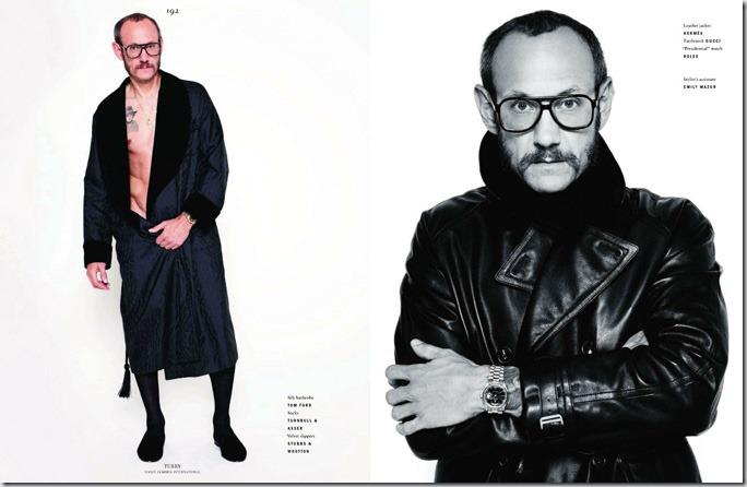 Terry Richardson in Vogue Hommes International
