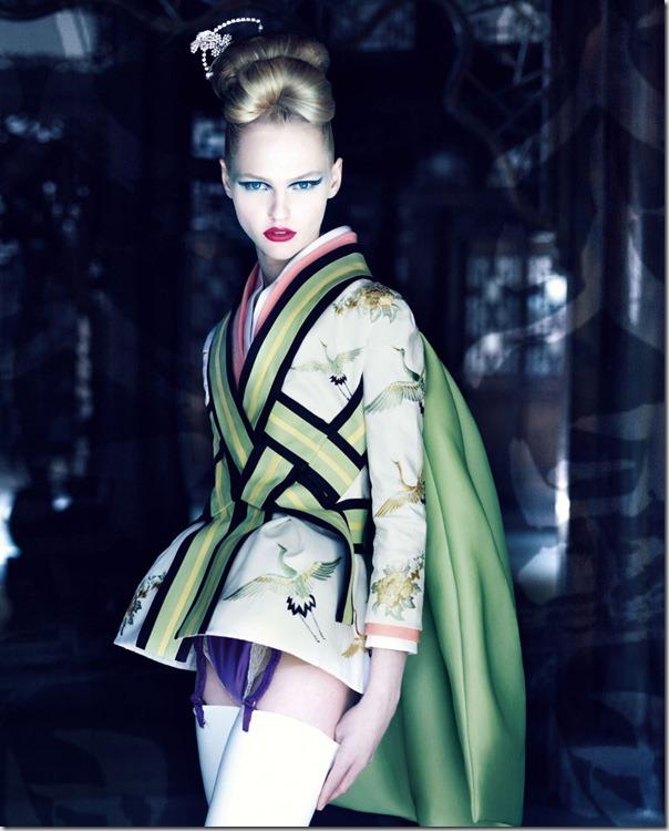 Dior Couture de la Patrick Demarchelier