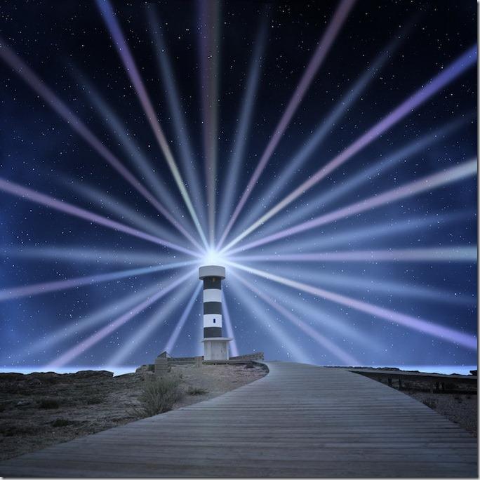 Lumea in nuante albastre de Caras Ionut