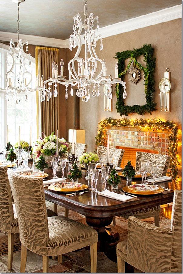 28 exemple de a decora living-ul pentru Anul Nou