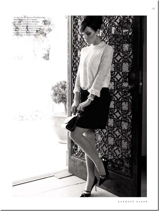 Kate Beckinsale in Harper's Bazaar Russia