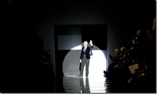 Saptama modei la Paris: Armani Prive