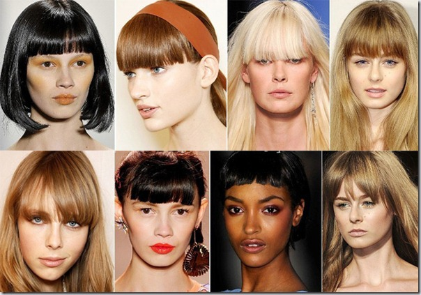 Top 5 coafuri la moda pentru primavara/vara 2012