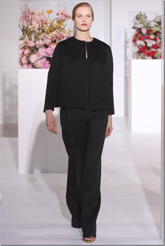 Saptamana de moda la Milano: Jil Sander (toamna 2012)