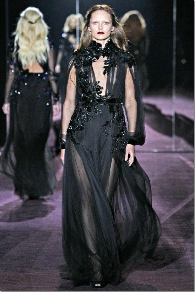Saptamana de moda la Milano: Gucci (toamna 2012)