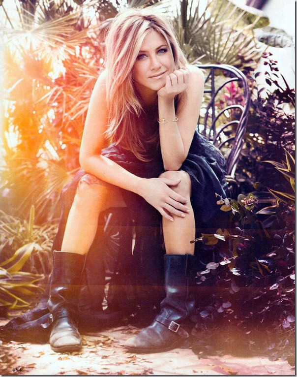 Jennifer Aniston in InStyle