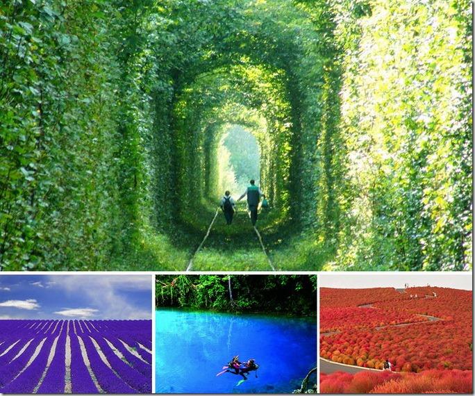 Cele mai impresionante locuri turistice