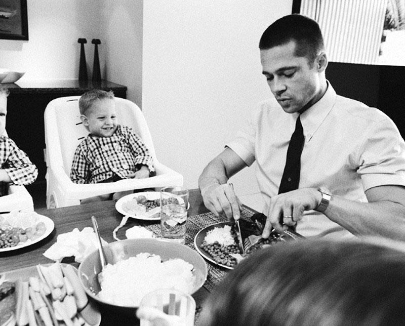 Valorile familiale ale lui Pitt si Jolie