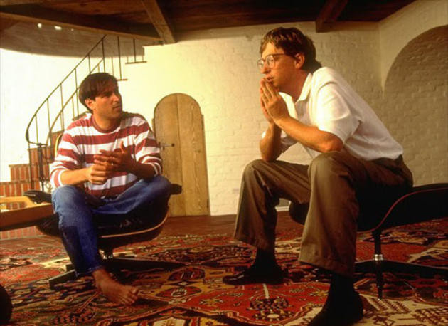 Steve Jobs È™i Bill Gates vorbesc, 1991