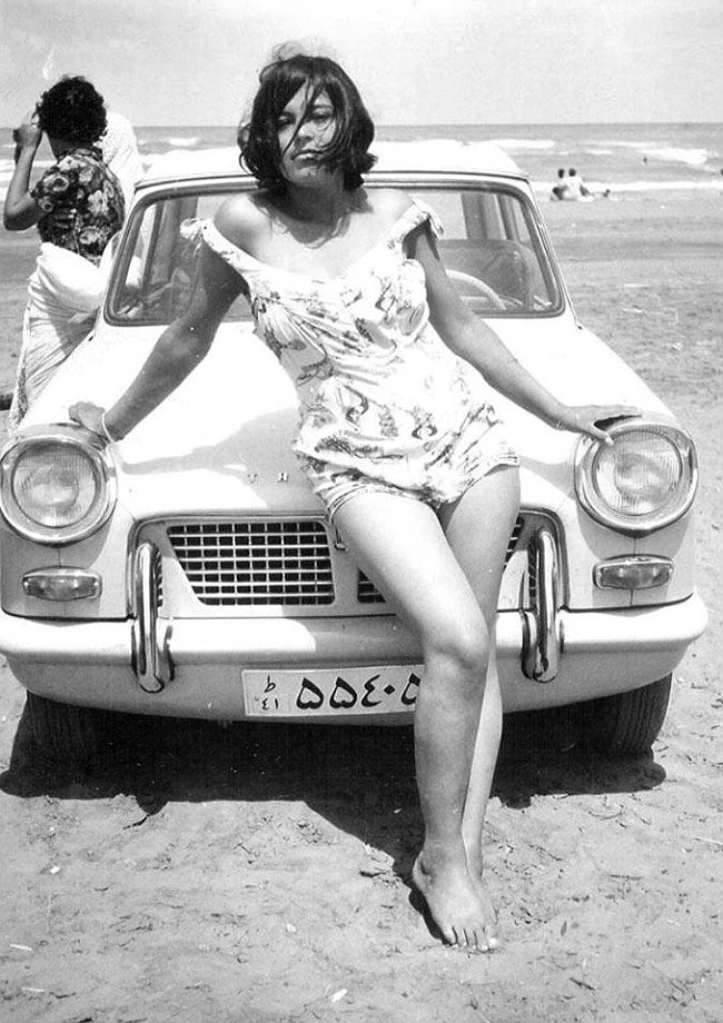 Femeie iraniena inainte de Revolutia Islamica, Iran, 1960