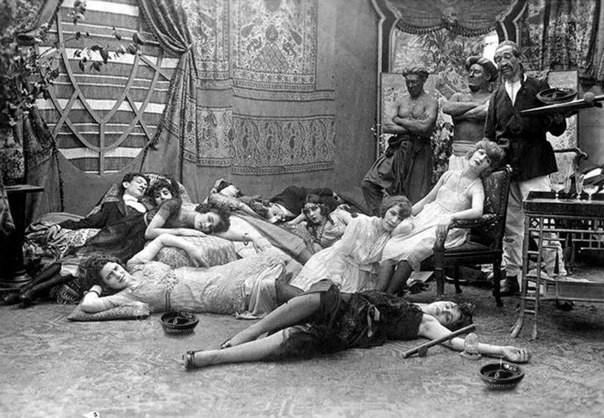 Petrecere de opium 1918
