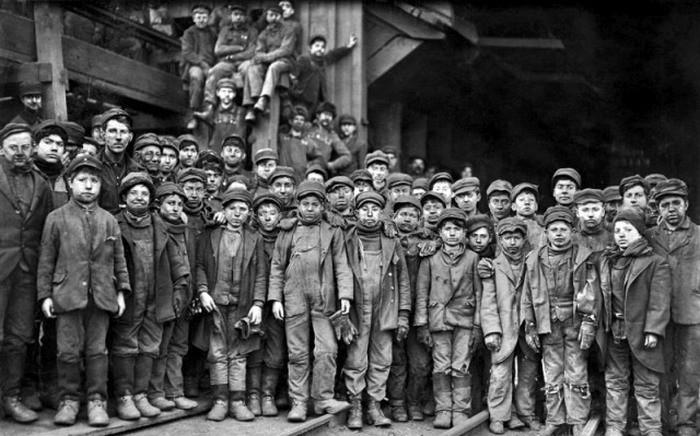 1911. Selectoare de cărbune. Pennsylvania.
