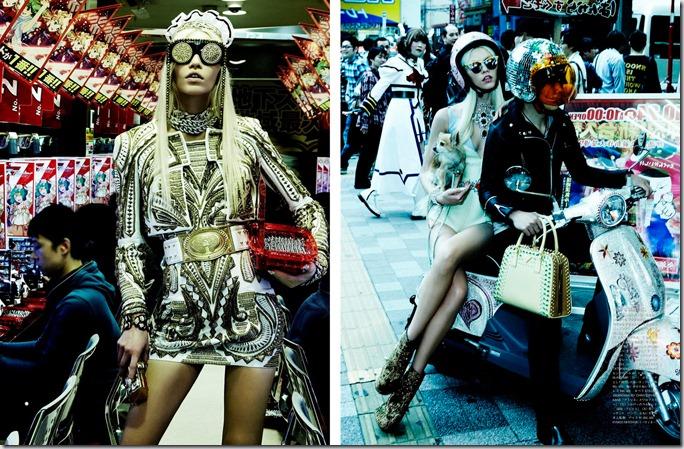 Aline Weber in Vogue Japan