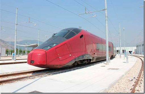 "In Italia vor aparea trenuri proiectate de concernul ""Ferrari"""