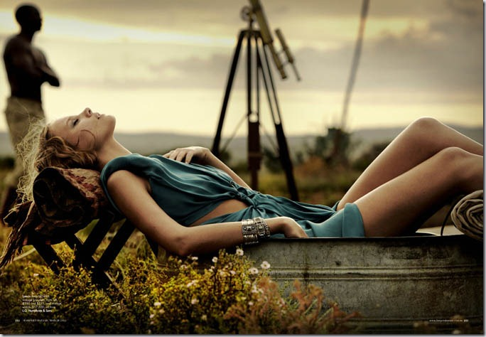 Photoshoot Harper's Bazaar Australia