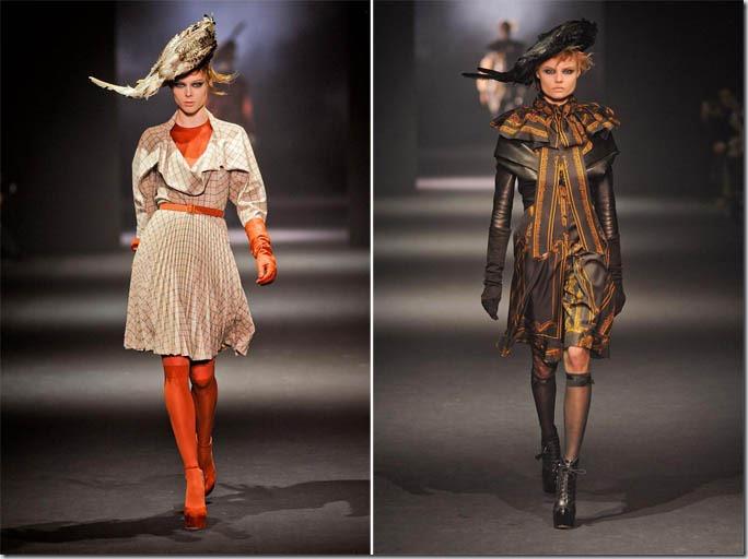 Saptamana de moda la Paris: John Galliano (toamna 2012)
