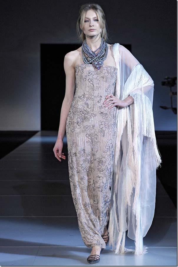 Saptamana modei la Milano: Giorgio Armani Fall 2011