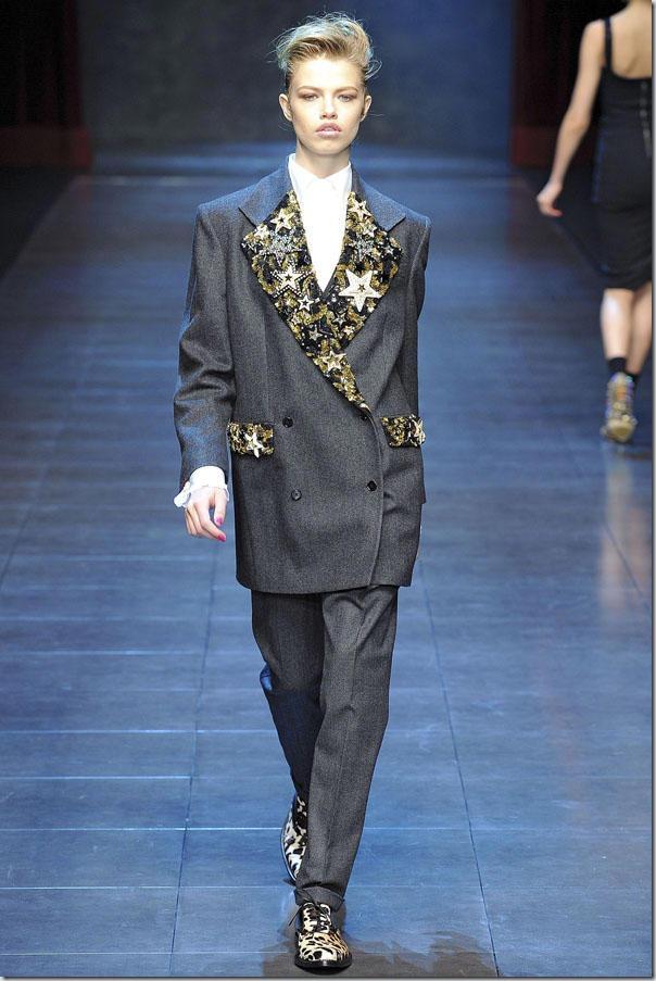Saptamana modei la Milano: Dolce & Gabbana Fall 2011