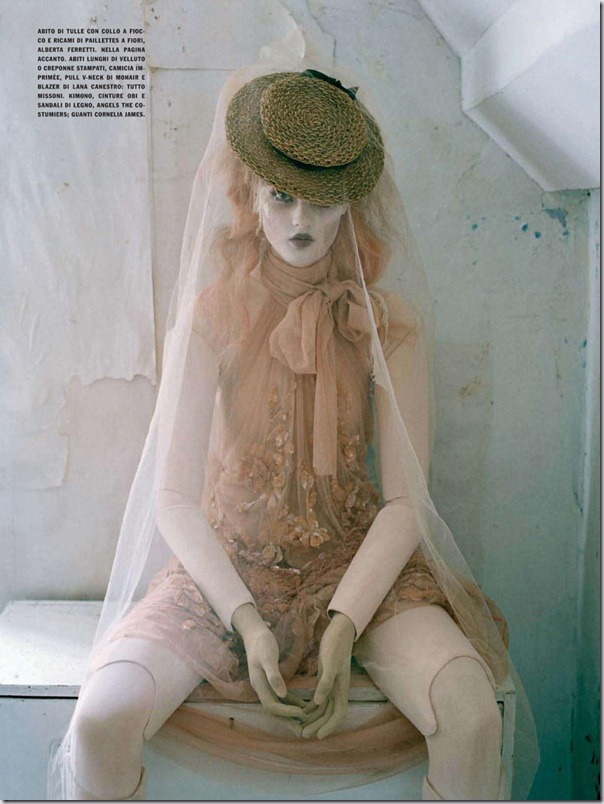 Papusi in Vogue Italia