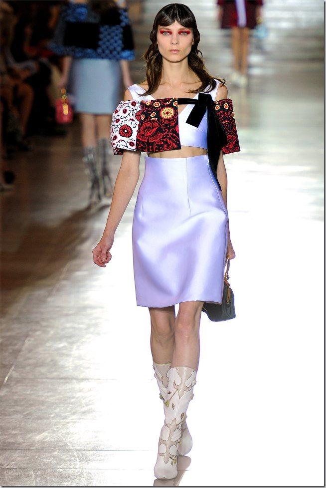 Saptamana modei la Paris: Miu Miu primavara 2012