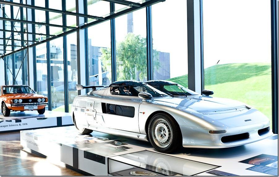 Autostadt de la Volkswagen: Zeit Haus
