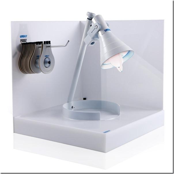 Conceptul becului de hartie Eco Light