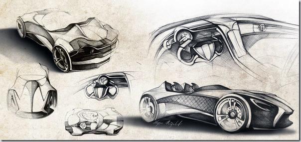 Conceptul Ferrari Millenio de la Marko Petrovic