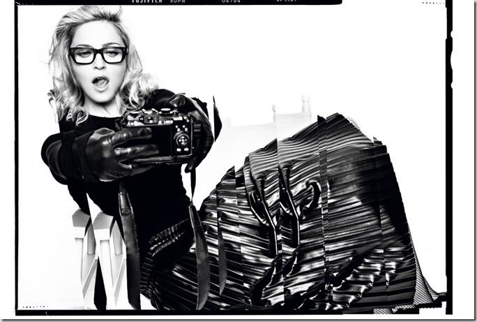 Madonna in Harper's Bazaar