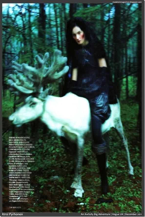 Foto sedinta: Tim Walker pentru Vogue UK
