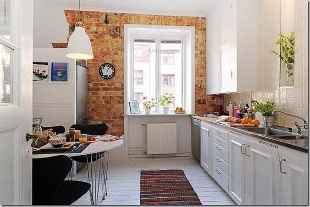 30 de idei pentru bucatarie din design-ul scandinav