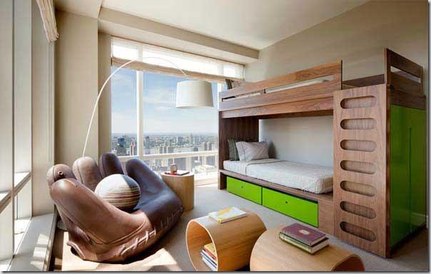 30 de paturi supraetajate pentru camera copiilor