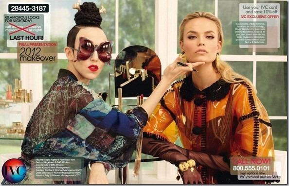 Sedinta foto: Daria Strokous, Karlie Kloss, Natasha Poly si altii pentru Vogue Italia