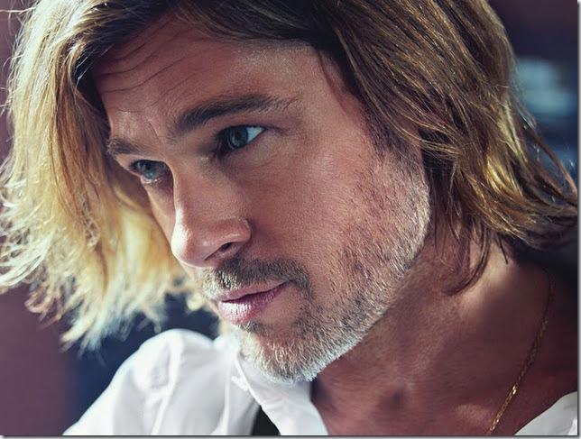 Brad Pitt si Charlize Theron in W Magazine