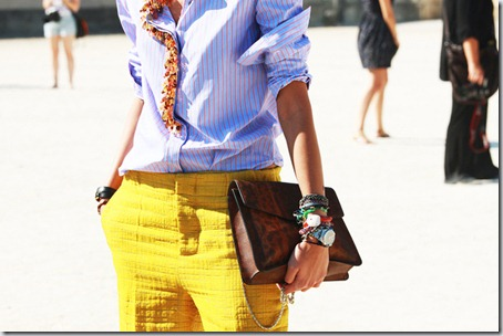 Idee la moda: camasa cusuta cu margele