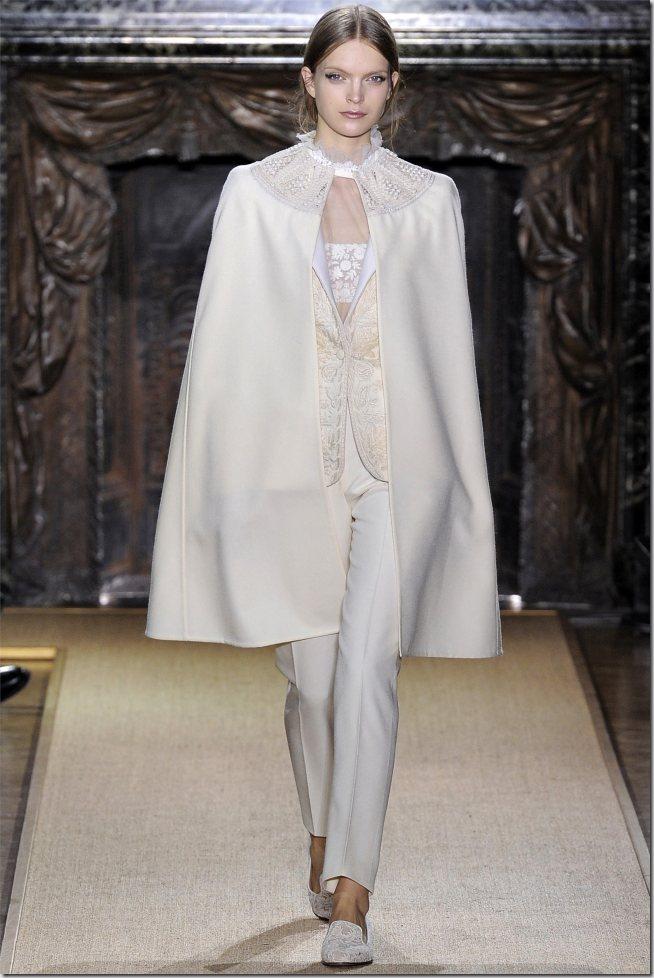 Saptamana modei la Paris: Valentino haute couture (primavara 2012)