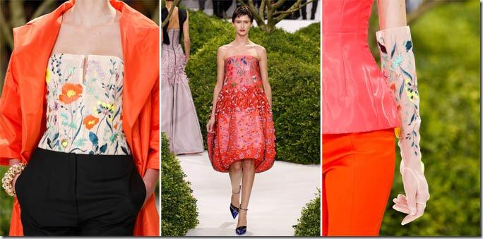 Saptamana modei la Paris: Christian Dior primavara 2013
