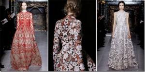 Saptamana modei la Paris: Valentino primavara 2013