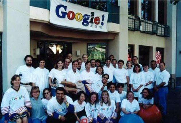 Prima echipă Google în 1999
