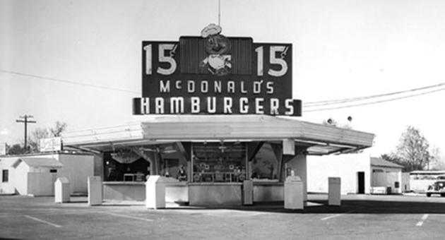 ÃŽn 1948 sa deschis primul restaurant McDonald's