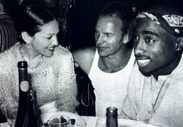 Madonna, Sting È™i Tupac Shakur