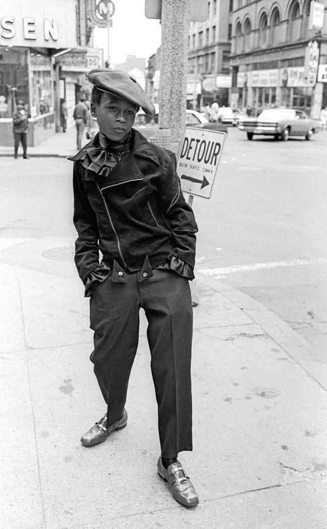 Boy în super-cap. Boston, Statele Unite ale Americii. 1968