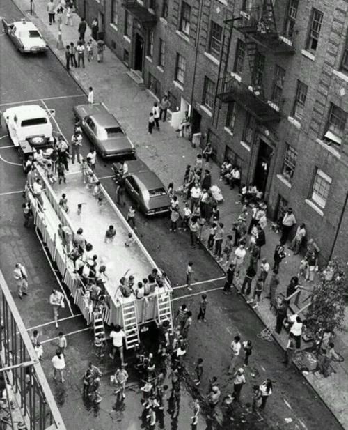 Piscină mașină în New York City, 1960