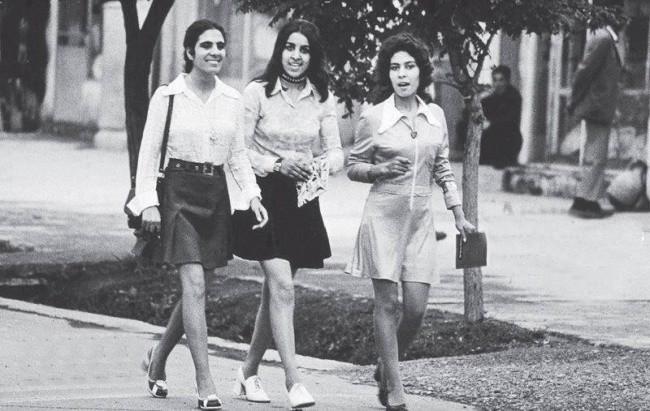 Fetele din Kabul, Afganistan, 1970.