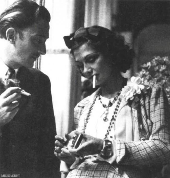 Salvador Dali È™i Coco Chanel.