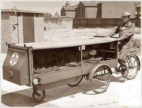 Prima ambulanță din lume.