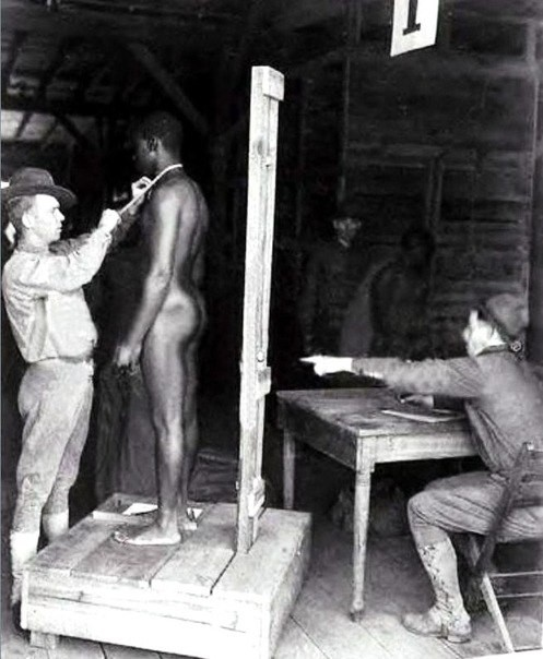 Traficanții de oamenil în Statele Unite. Pregătirile pentru vânzarea de negrii.